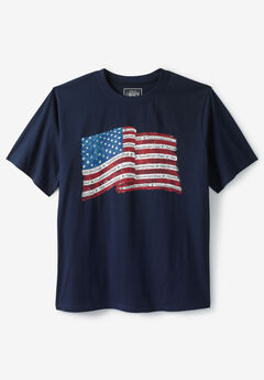 Liberty Blues® Americana Graphic Tee, FLAG