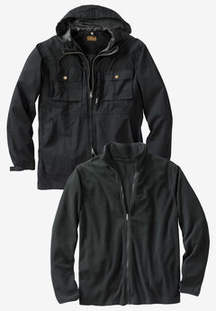 3-in-1 Resistance Jacket by Boulder Creek®,