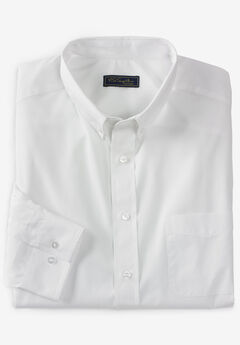 KS Signature No Hassle® Long-Sleeve Button-Down Dress Shirt,