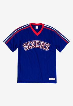 Mitchell & Ness® Overtime Win V-Neck Tee,
