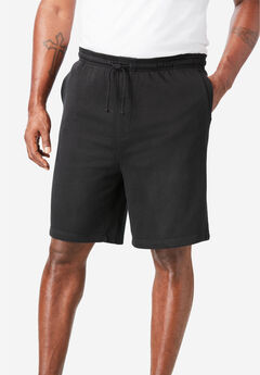 KS Island™ Lightweight Terry Shorts, BLACK