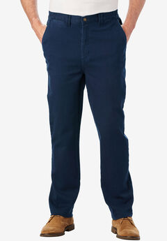 Liberty Blues® Relaxed Fit 5-Pocket Stretch Chino, NAVY