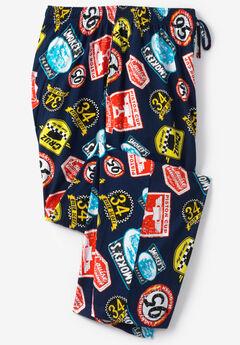 Licensed Novelty Pajama Pants, CAR LEGENDS