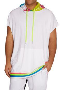 MVP Collections® Tie-Dye Sleeveless Hoodie,
