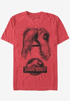 Jurassic Park Graphic Tee, JURASSIC SKULL