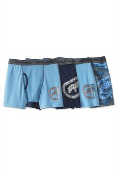 Ecko Jersey Boxer Briefs Underwear, 4-pack,