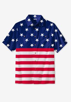Americana Shirt, STARS AND STRIPES