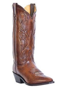 "Dan Post 13"" Cowboy Heel Boots,"