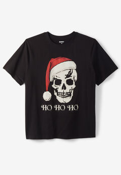 KingSize Seasonal Graphic Tee, HO HO HO