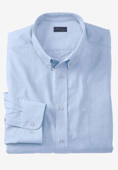 KS Signature Wrinkle-Resistant Oxford Dress Shirt, SKY BLUE