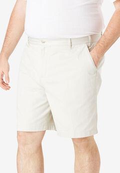 Nautica® Flat Front Shorts, NAUTICA STONE