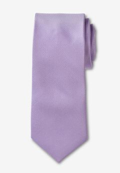 KS Signature Extra Long Classic Textured Tie, LIGHT PURPLE