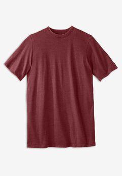 Longer-Length Short-Sleeve T-Shirt,