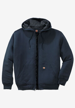 Heavyweight Quilted Fleece Hoodie by Dickies®,