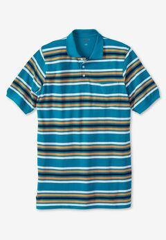 Liberty Blues™ Pocket Piqué Polo Shirt,