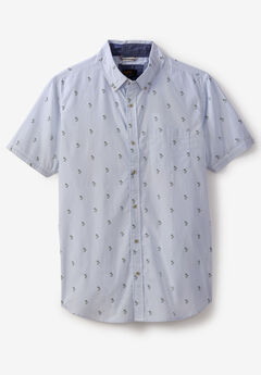 Thomas Short-Sleeve Woven Shirt by Lee®, WHITE
