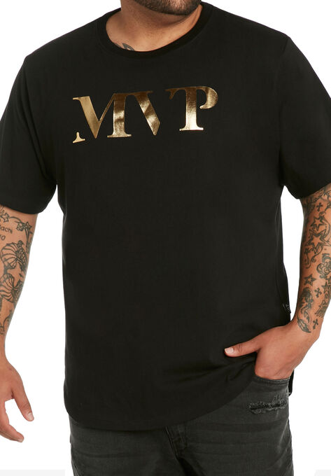 6544c6899aaa Curved Hem Tee by MVP Collections®| Big and Tall All T-Shirts | King ...
