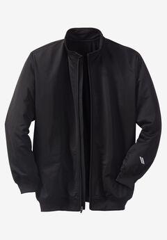 Track Jacket by KS Sport™, BLACK