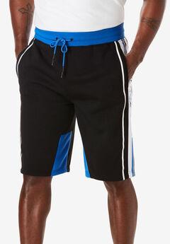 Roc Stripe Knit Fleece Shorts by Rocawear®,