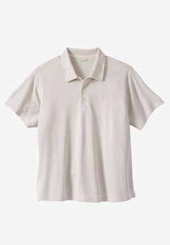 Short-Sleeve Luxe Polo by KS Island™,