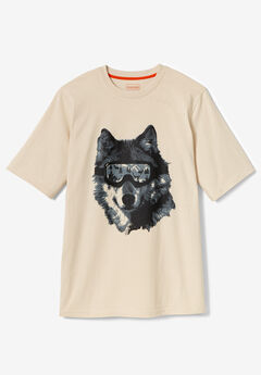 Boulder Creek® Nature Graphic Tee, WOLF