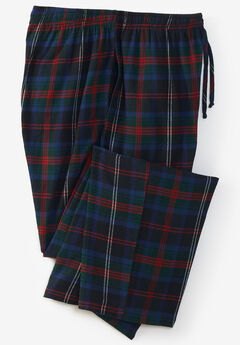 Flannel Plaid Pajama Pants,