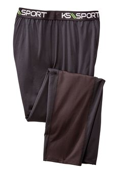 Base Layer Pants by KS Sport™, BLACK