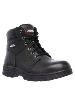 Workshire Relaxed Fit Steel-Toe Work Boot by Skechers®,