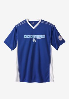 MLB® Legacy V-Neck Tee, LOS ANGELES DODGERS