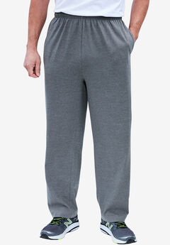 Lightweight Jersey Sweatpants, HEATHER SLATE