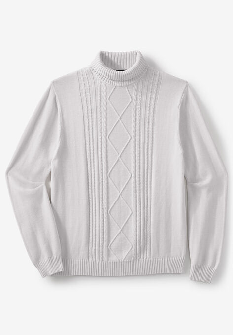 f8a9d0a4327 Liberty Blues® Shoreman's Cable Knit Turtleneck Sweater| Big and ...