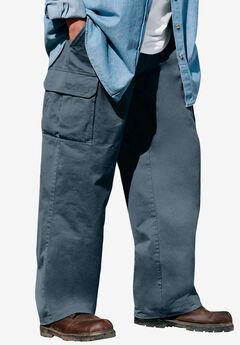 Boulder Creek® Renegade Side-Elastic Waist Single Pocket Cargo Pants, CARBON