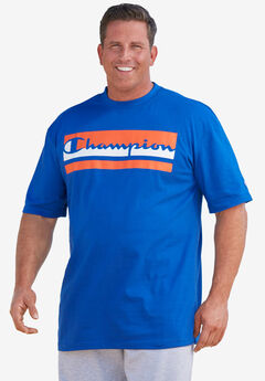 Champion® Logo Tee,