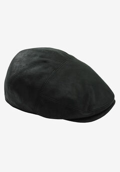 Faux Leather Ivy Cap,