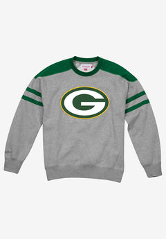 NFL® Team Fleece Crewneck Sweatshirt by Mitchell & Ness®,
