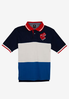 Blueprint Polo by Rocawear®, NAVY