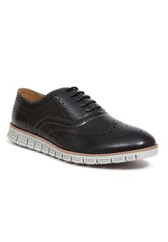 Deer Stags® Benton Memory Foam Lace-up Brogue Shoes,