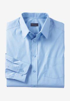 Classic Fit Broadcloth Flex Long-Sleeve Dress Shirt by KS Signature, SKY BLUE