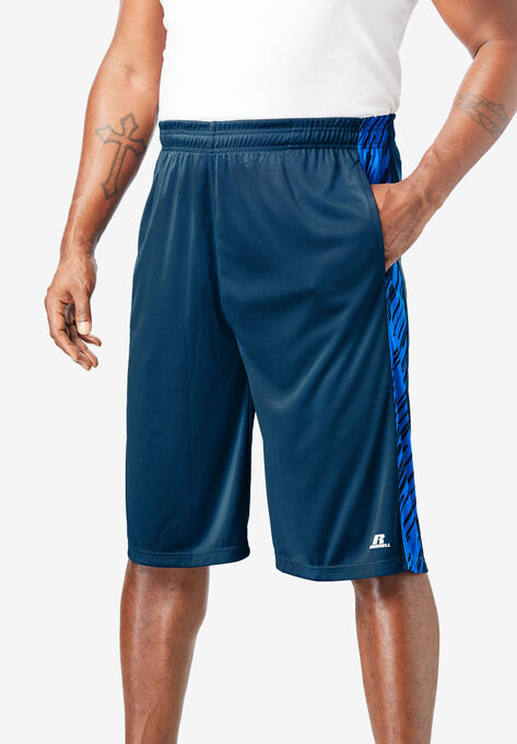 Russell Athletic® Dri-Power® Side Stripe Performance Shorts