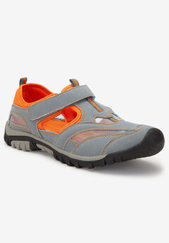 Sport Sandal, GREY ORANGE