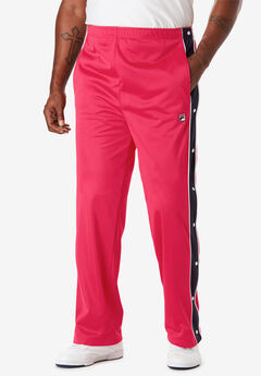 Tearaway Pants by FILA®, RED