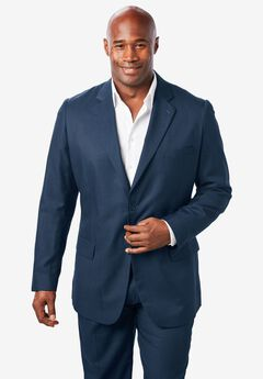 Easy Movement® Two-Button Jacket by KS Signature, NAVY
