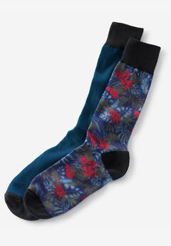Compression Socks by KS Island™, ASSORTED NAVY