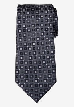 KS Signature Extra Long Classic Geo Tie,