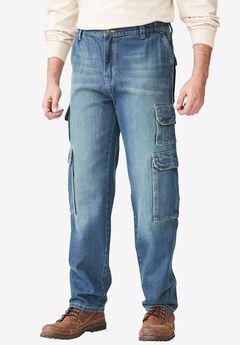 Liberty Blues® Side-Elastic Cargo Pants,