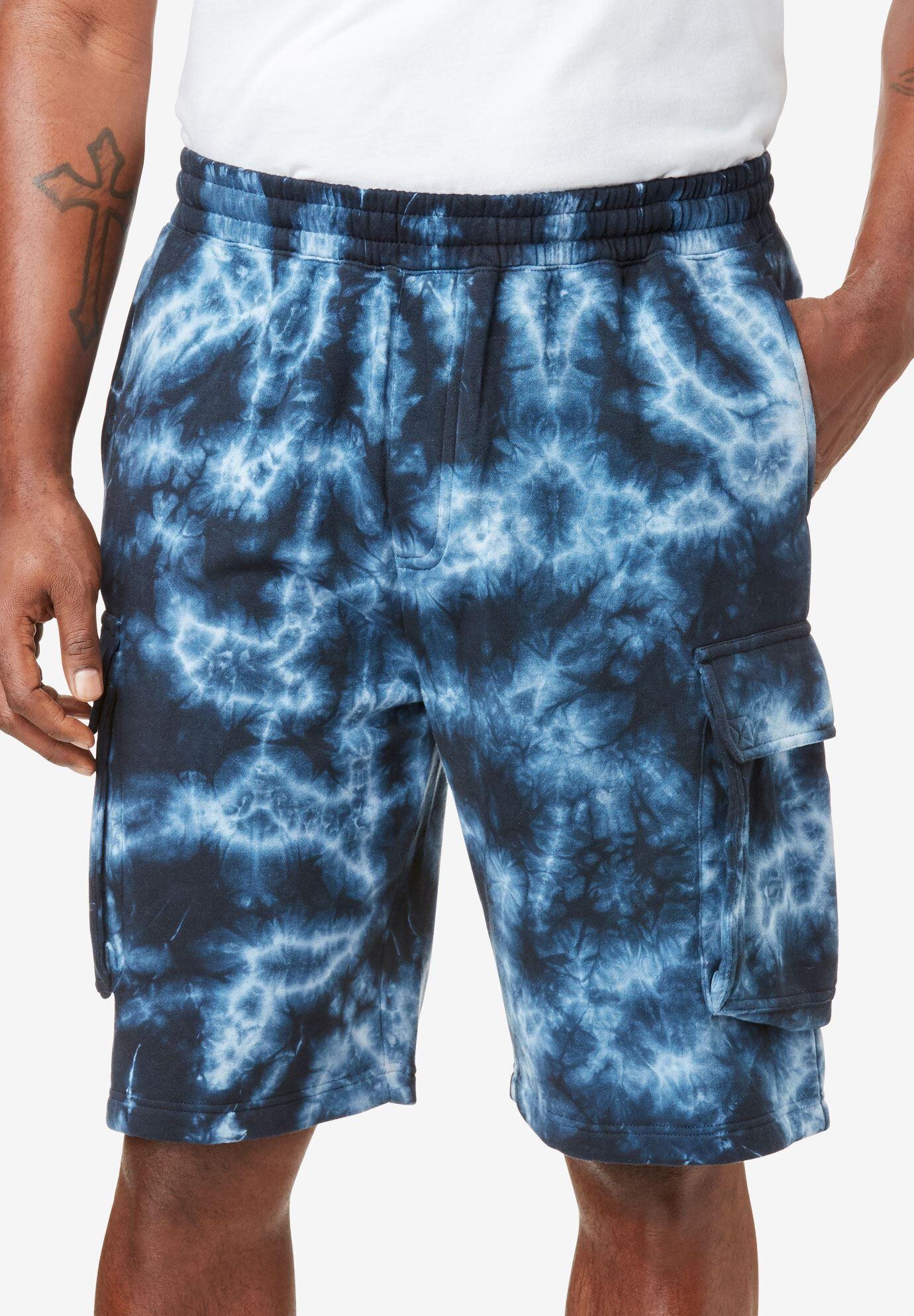 KingSize Mens Big /& Tall Comfort Fleece Shorts