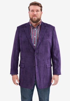 KS Signature Corduroy Blazer, PURPLE