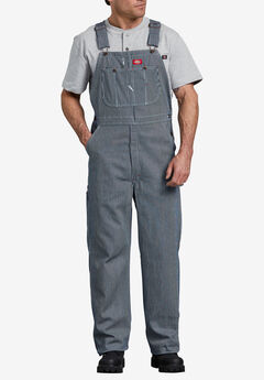 Hickory Stripe Bib Overalls by Dickies®,