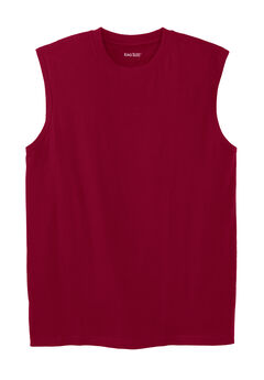 Shrink-Less™ Lightweight Sleeveless Muscle T-Shirt,