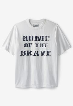 Liberty Blues® Americana Screen Tee, BRAVE